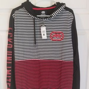 Ecko UNLTD Men's Hoodie NWT Black Multicolored